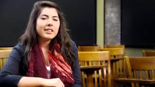 Meet Abigail Whalen '15, Trinity College (Conn.)