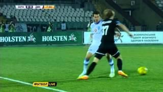 Заря Луганск - Динамо Киев. 2-0. 03.11.2013 Обзор.