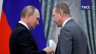Евгений Миронов передал Владимиру Путину письмо от деятелей культуры в защиту Серебренникова