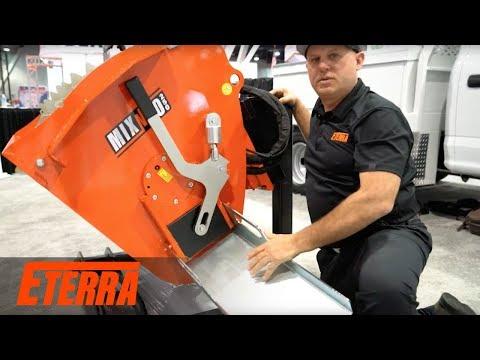 Eterra Mix-N-Go Concrete Mixer Attachment | World Of Concrete Introduction
