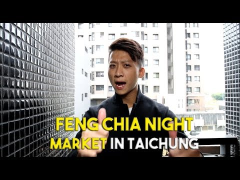 Biggest Night Market In Taichung