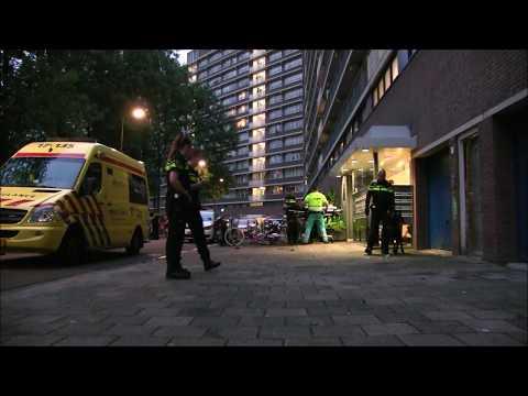 Massale politie inzet #Reviusrondeel Capelle aan den IJssel