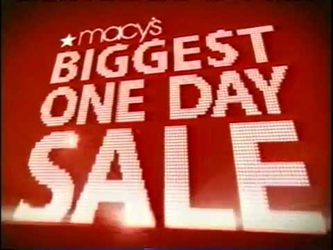 * The October Macy's One Day Sale was SATURDAY, October 18, – with a preview day on Friday, October 17, The Macys One Day Sale before that TOTALLY caught me off guard because it came on the heels of Labor Day.