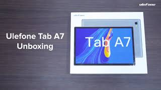 Unboxing the Ulefone Tab A7 - More Intelligent, More Fun