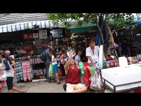 Thailand, Bangkok: A Walk around Chatuchak Weekend Market ( Street Food/Clothes/Anything! )