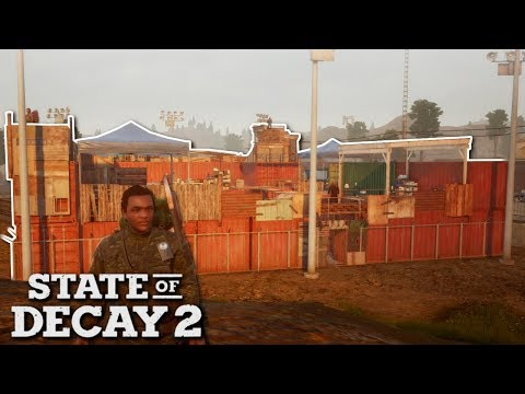 CONTAINER FORT BASE! - State of Decay 2 Gameplay - Zombie Apocalypse survival game