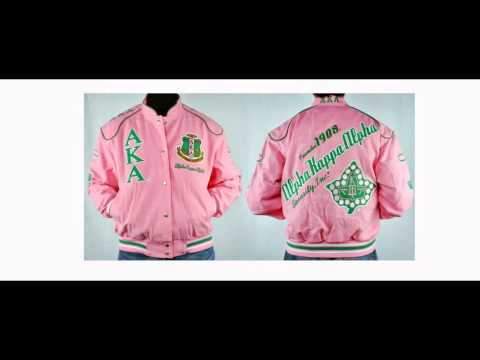 Alpha Kappa Alpha apparel & jackets-black greek paraphernalia-greek paraphernalia-aka sorority
