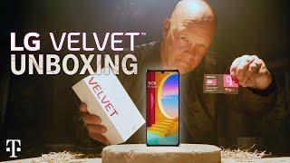 LEGENDARY LG Velvet 5G Unboxing!   T-Mobile