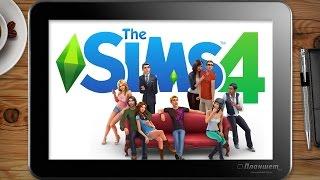 Играем SIMS 4 на Windows планшете Voyo A1 mini, tablet pc gameplay test