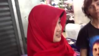Repeat youtube video Jablay berjilbab merah belum di toel