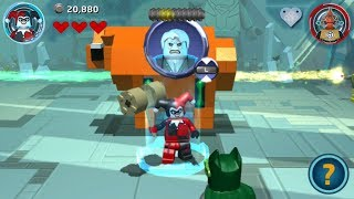 Lego Batman 3: Beyond Gotham (PS Vita/3DS/Mobile) Harley Quinn Gameplay