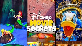 Top 7 Hidden Disney Movie Secrets at Magic Kingdom!