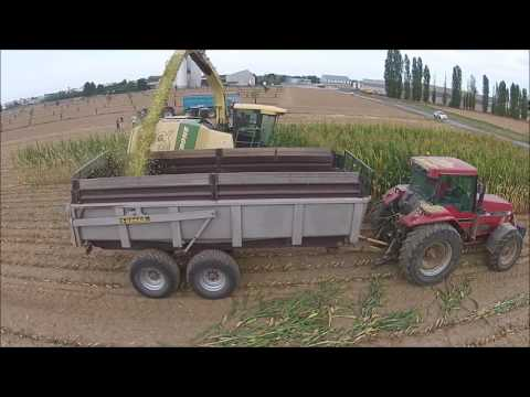 [DJI] Ensilage de maïs 2016 - Lycée agricole Gilbert Martin (Le Neubourg - 27)