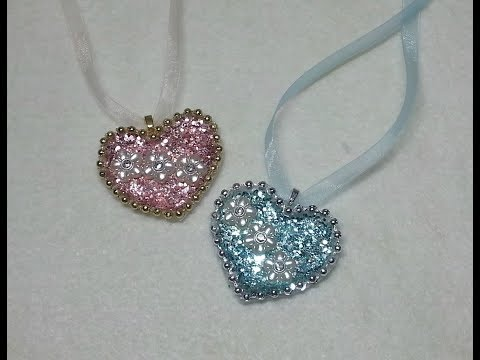 DIY~Make Gorgeous Vintage Heart Necklaces OR Embellishments!
