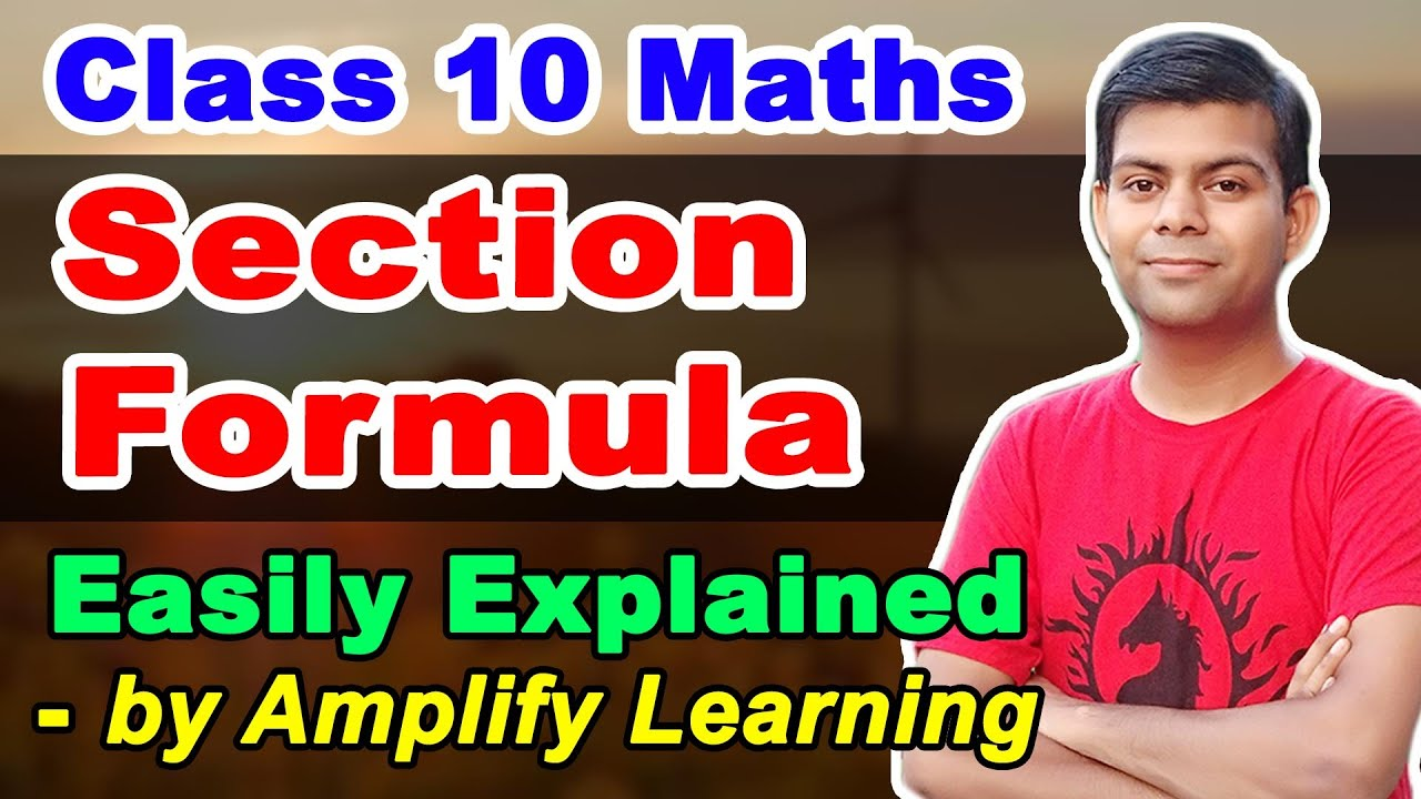 Section Formula | Class 10 Maths