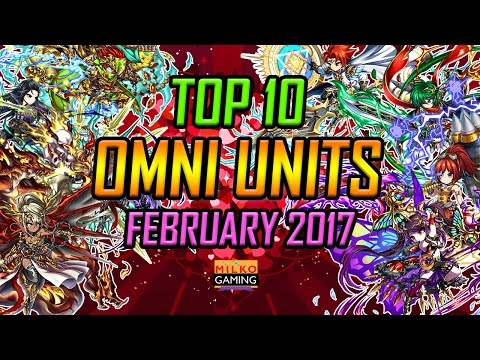 Brave Frontier Top 10 Omni Units February 2017 Edition! Who Will Be the Best?