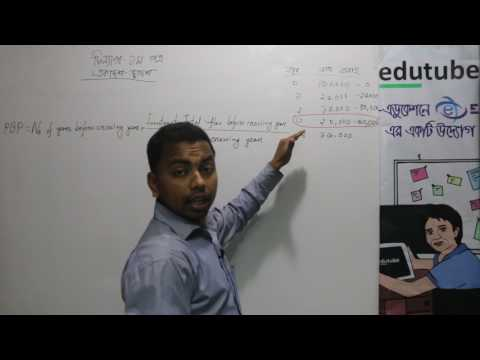 HSC Finance 1st Paper, Chapter 8, Pay back সময়,Part 1