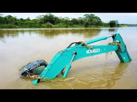 Excavator Accident Sink
