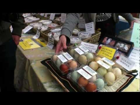 Union Square (New York City), Greenmarket Farmer's Market - Travel Video PostCard™