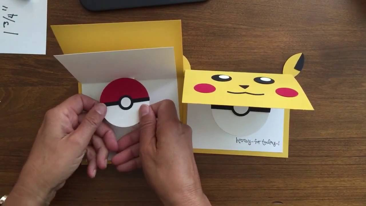 Easy To Make Pokemon Cards Crafts 2