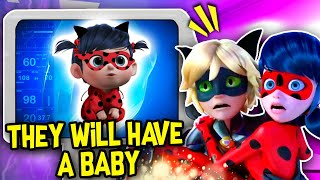 LADYBUG AND CAT NOIR ARE HAVING A BABY! 🐞