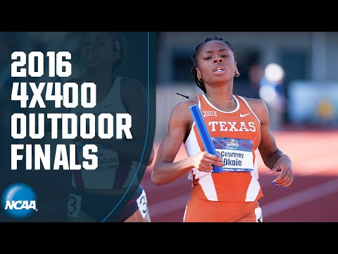 Women's 4x400 - 2016 NCAA Outdoor Track And Field Championship