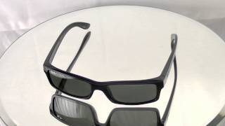 1bb4a48ceab ... czech ray ban rb4228 light ray sunglasses review smartbuyglasses 461f7  0c6ff get ray ban rb4151 review d5a64 3de64 discount ...