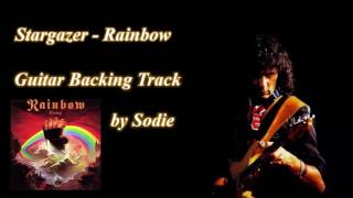 Stargazer - Rainbow cover by Sodie (Guitar Backing Track)