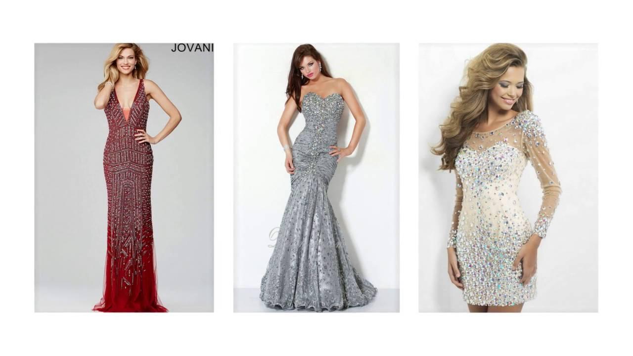 Abendkleid mit perlen, abschlussballkleider, elegante abendkleider ...