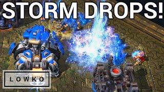 StarCraft 2: STORM DROPS! (MaNa vs SpeCial)
