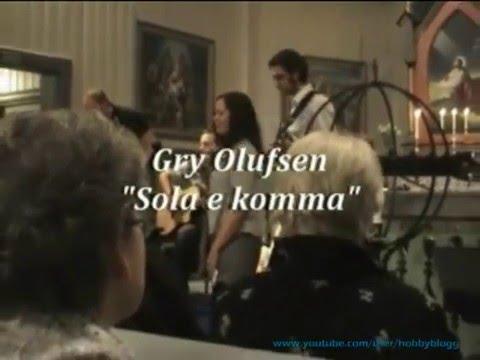 En konsert i Gullstein kirke. Aure kommune. Møre og Romsdal.