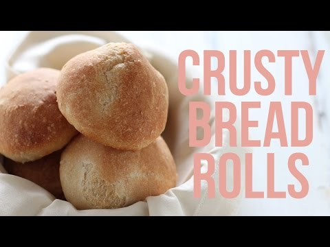 How to Make Crusty Bread Rolls | Holiday Recipe