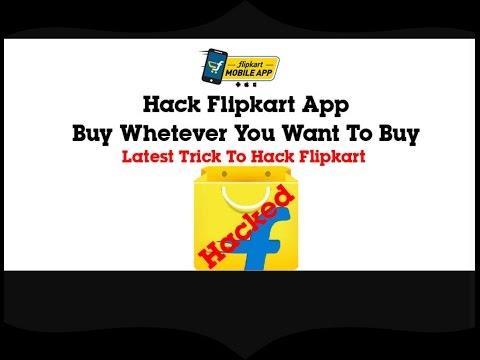 How to hack Flipkart 100℅ working