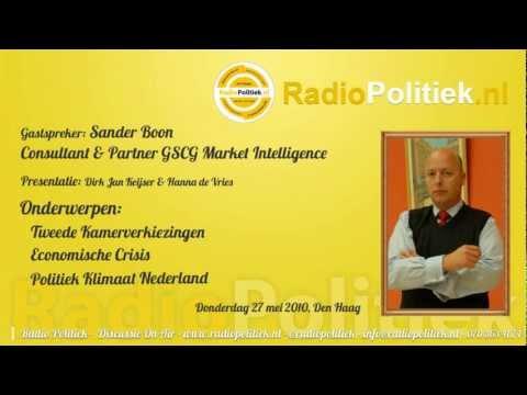 Sander Boon Consultant & Partner GSCG Market Intelligence