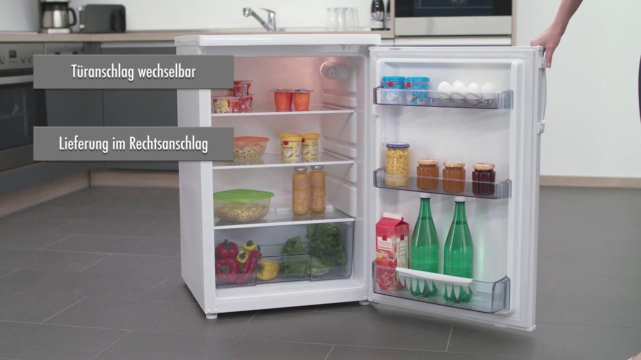 Kühlschrank Vollraum : Ks rv a vollraum kühlschrank youtube