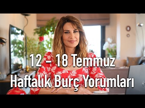 CESARETİN VAR MI AŞKA! 12- 18 Temmuz Haftalık Burç Yorumları - Hande Kazanova ile Astroloji