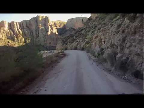 Apache Trail, unpaved section