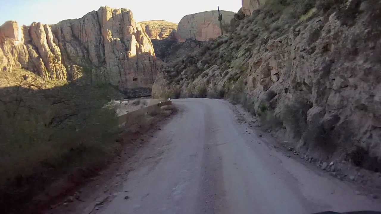 Apache Trail  Unpaved Section