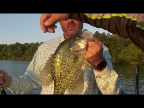 Catching the Kinkaid Crappie Slam