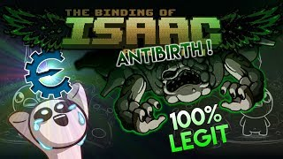 Promis J'AI PAS TRICHÉ ! - [Binding Of Isaac Antibirth]