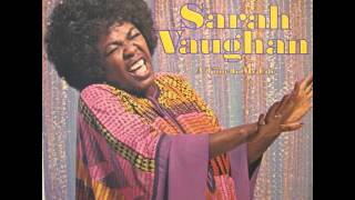 Sarah Vaughan - On Thinking It Over