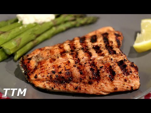 How to Grill Salmon~Easy Cooking