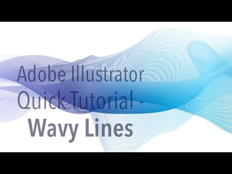 Illustrator Tutorial - Wavy Lines