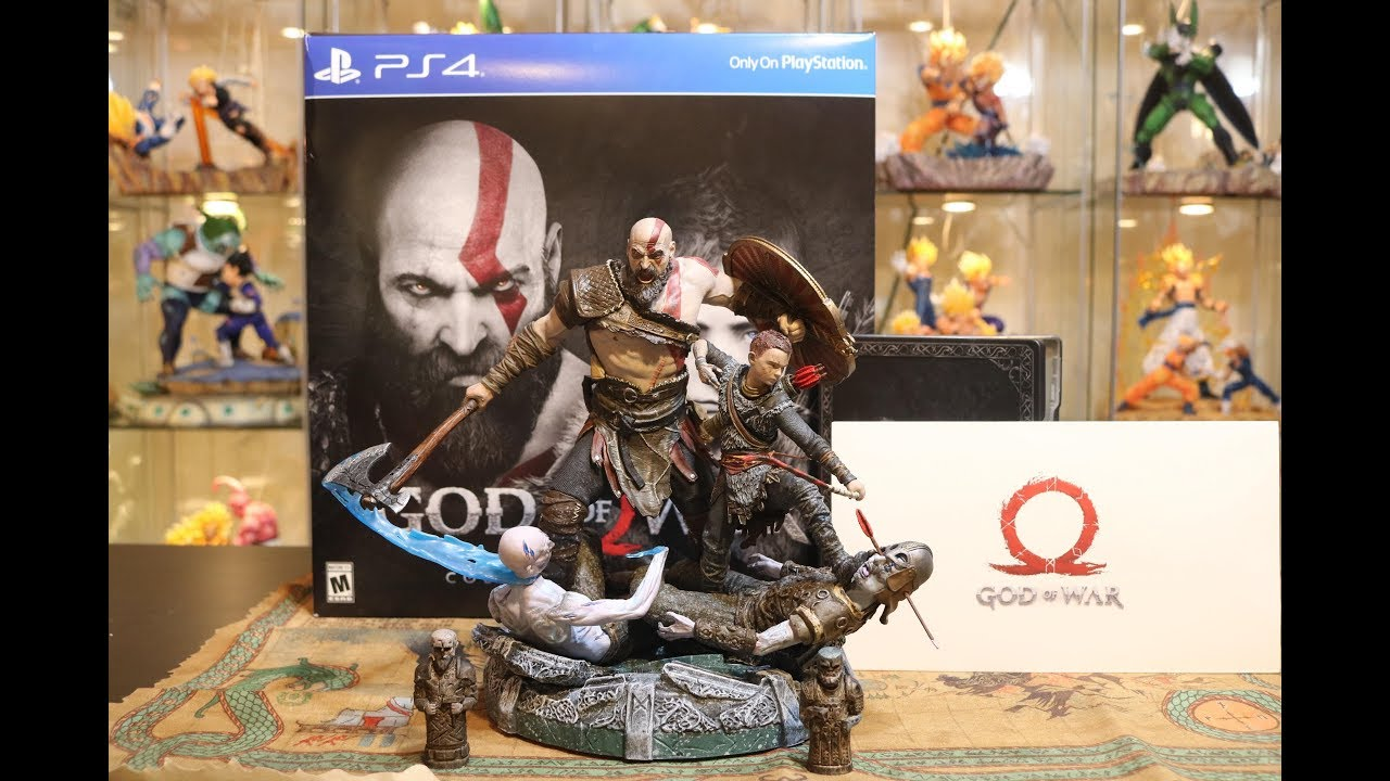 god of war ps4 collectors edition statue