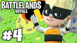 DASH 'THE INCREDIBLES' Skin Victory Royale! - Battlelands Royale #4 (IOS / Android Gameplay)