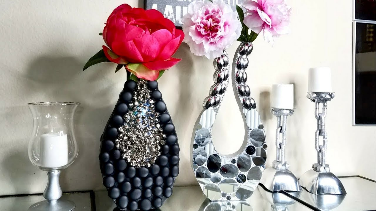 2 Quick And Easy Modern Style Vases Made On A Budget Simple And