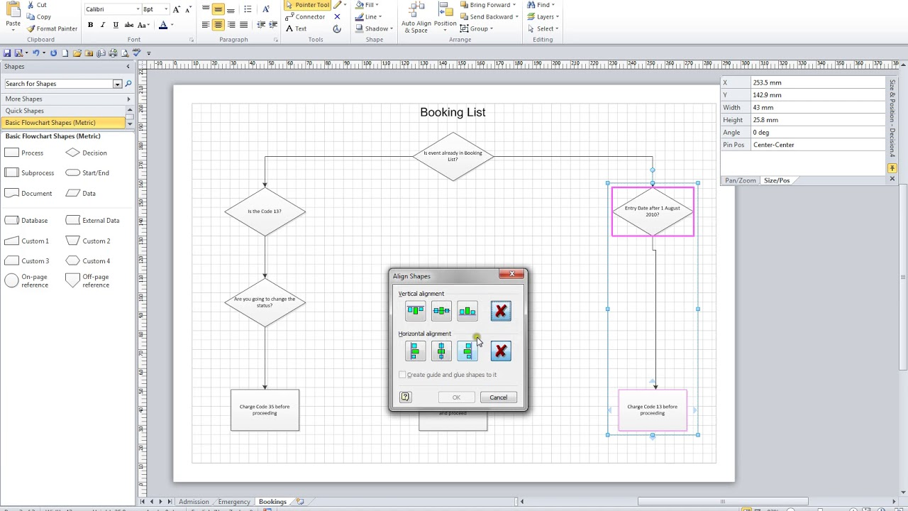 Microsoft Visio 2010 Mastering Series Video 14 Diagram