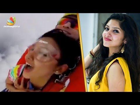 ഗായത്രിയുടെ സ്കൈ ഡൈവിങ് | Gayathri Suresh's Sky Diving video | Viral video