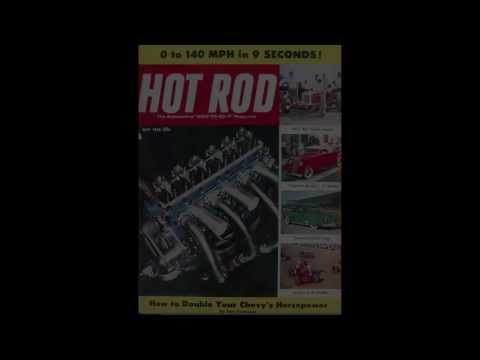 Hot Rod Magazine covers 1948-1960