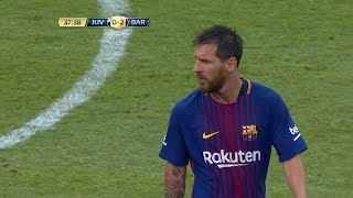 Lionel messi vs juventus (icc) hd 1080i (23/07/2017) by irammessitv